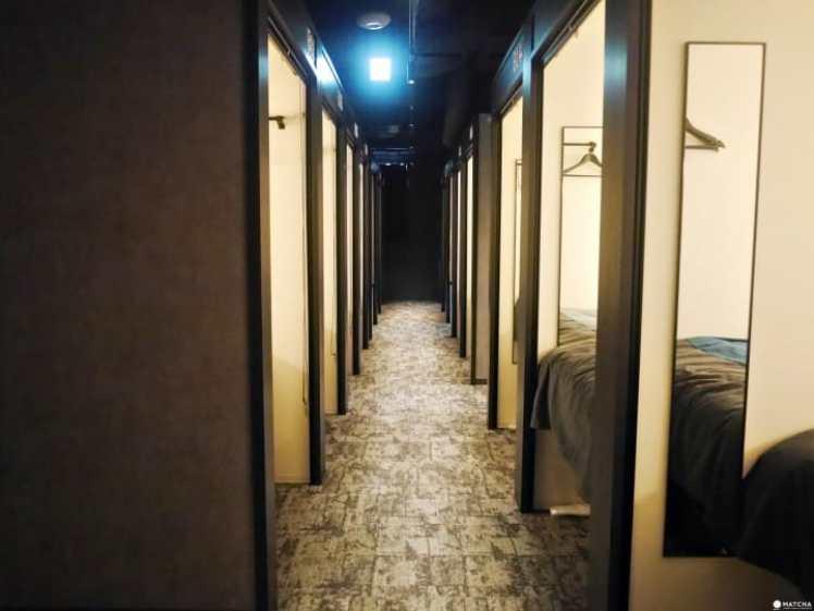 THE MILLENNIALS KYOTO走廊