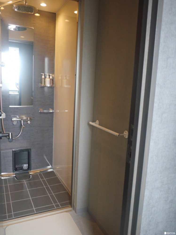 THE MILLENNIALS KYOTO淋浴間