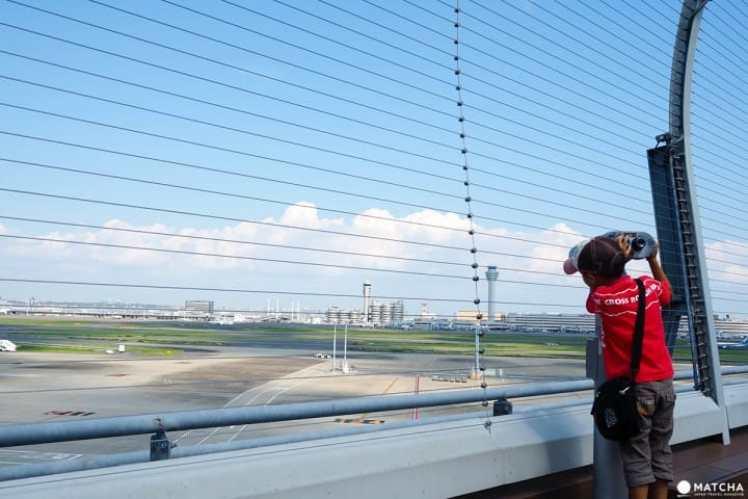 羽田機場國際航廈 飛機展望台