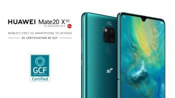 Huawei Mate 20 X 5G är världens första mobila enhet att uppnå 5G-certifiering 1