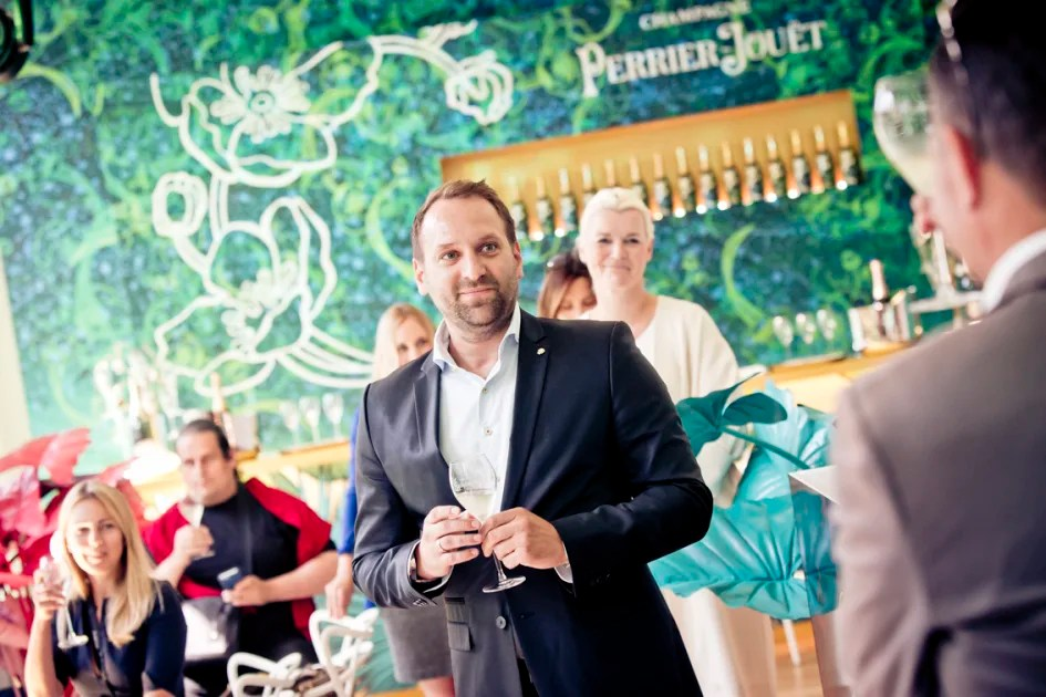 luxury relationship manager perrier