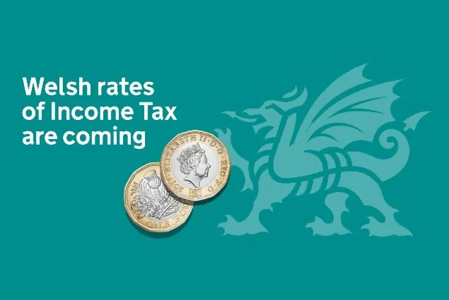 Image result for HMRC writes to taxpayers ahead of introduction of Welsh rates of income tax