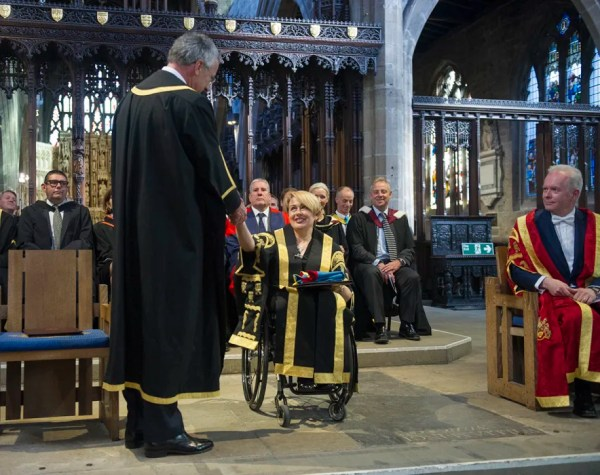 Cathedral welcome for Northumbria's new Chancellor ...