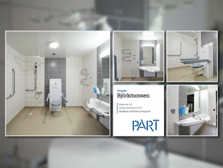 Referensrum Björkmossen – 54 rum