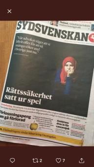 140 sorgeklädda människor besöker Riksdagen i morgon