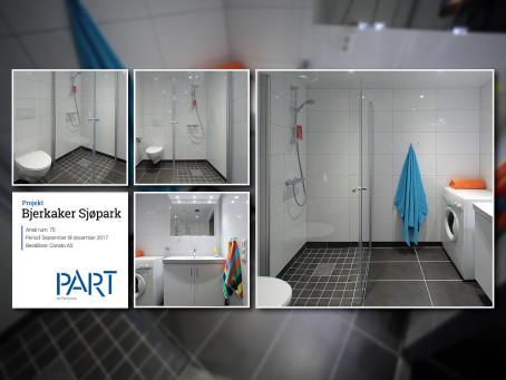 Referensrum Bjerkaker Sjøpark – 1 av 75 rum