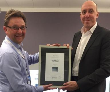 Cygate AB kan återigen stoltsera som Mitel Platinum Partner 1
