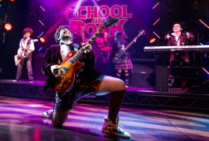 School of Rock från Broadway till London i höst