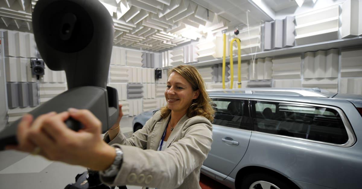 Anette Garnemark Systemyst Volvo Cars Noise