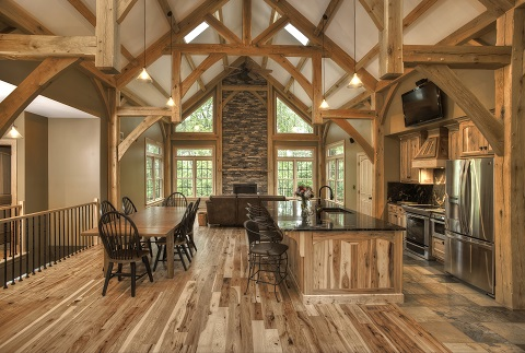 Landon Homes   Custom Homes   A Wood Lovers Dream Custom Homes   Log homes  timberframe and post and beam homes represent a  tradition of craftsmanship that goes back thousands of years