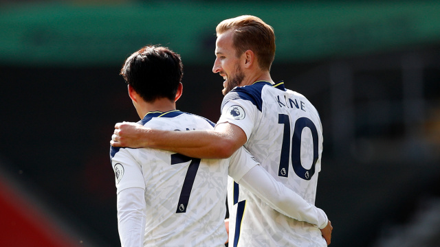 Kane sets up four Son goals as Spurs beat Southampton