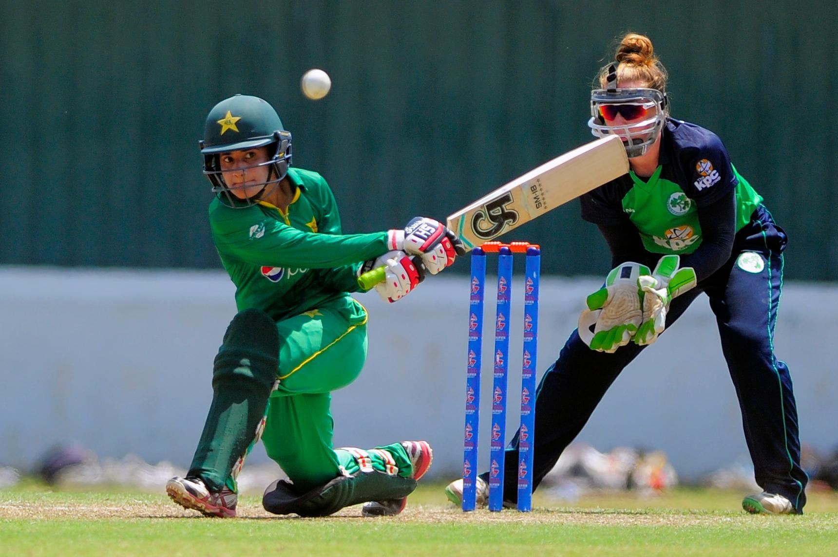 Ireland V Pakistan Icc Women S World Cup Qualifier Super Six