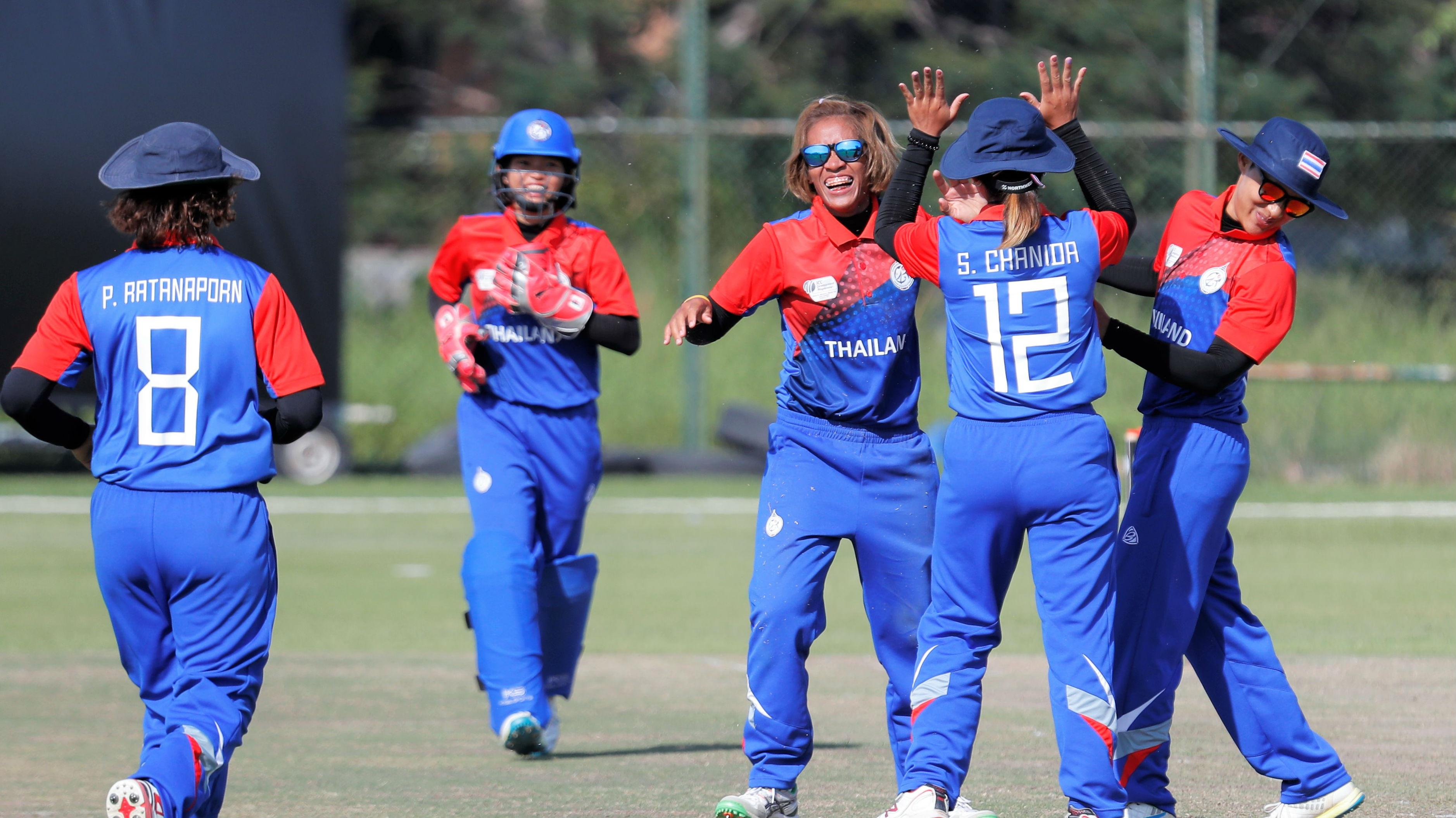 Thailand And Uae Win Places In The Icc Women S World T20