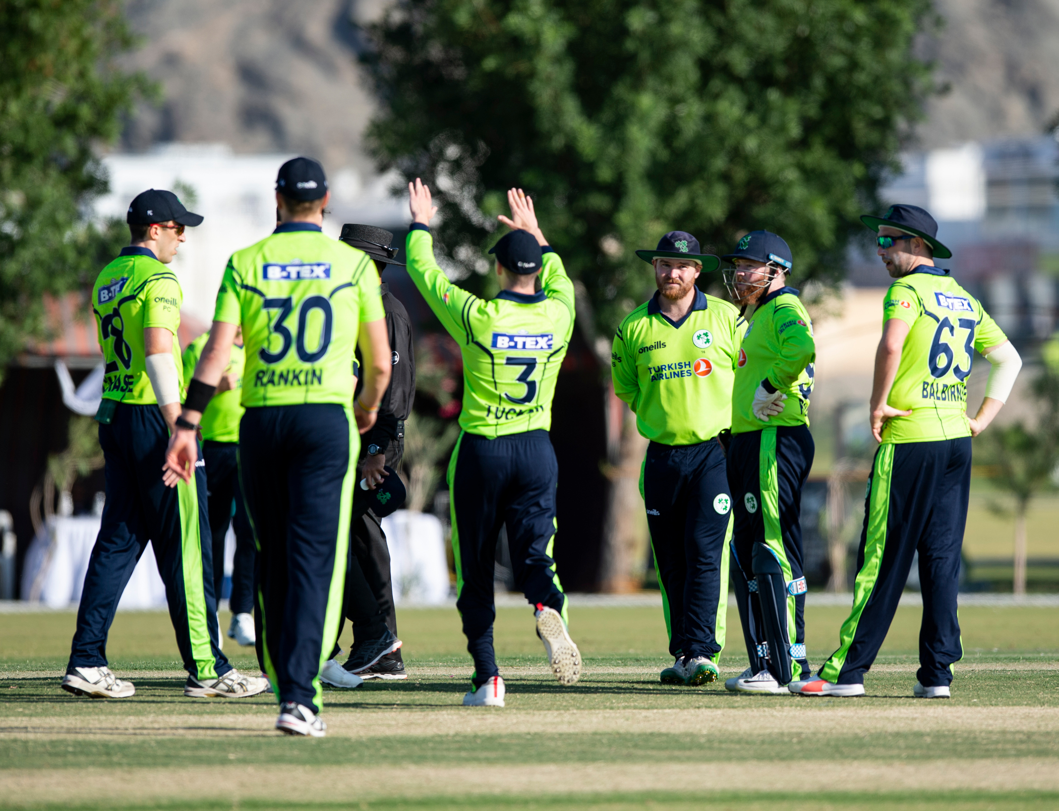 Five Nation Pre T20 World Cup Qualifier Warm Up Tournament
