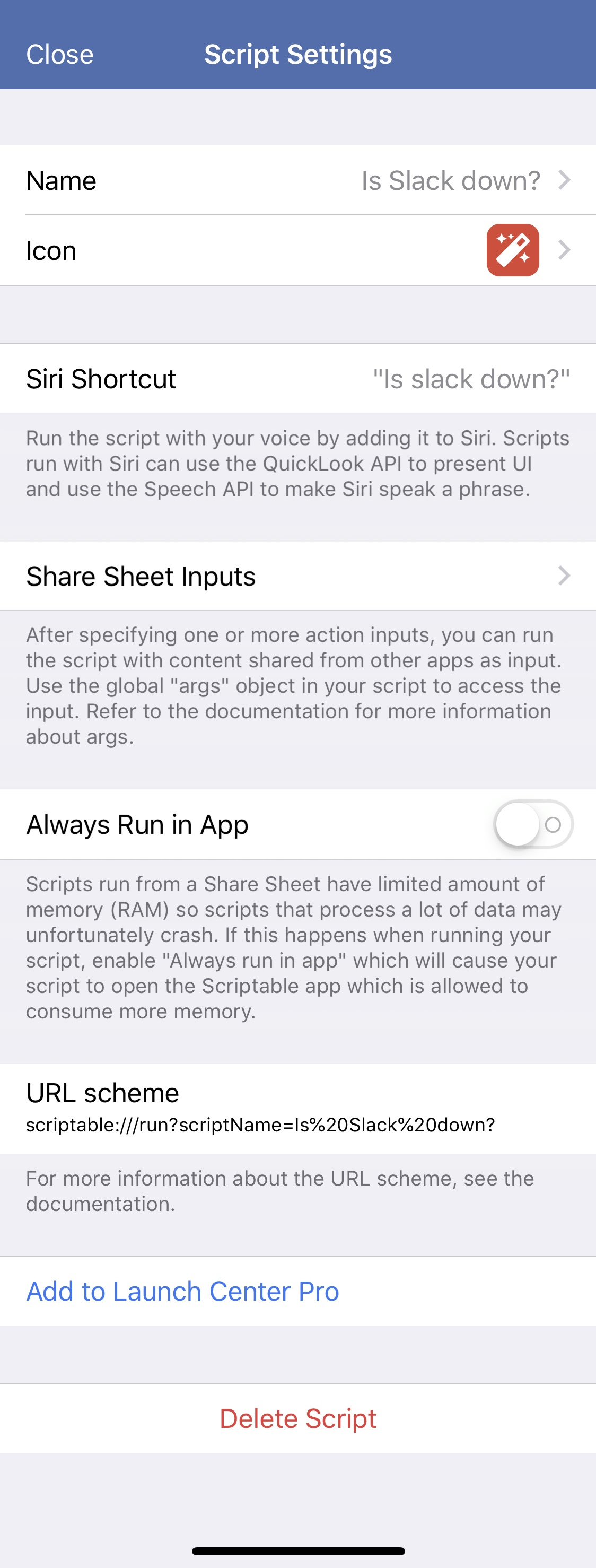 Scriptable: Use JavaScript to control your iPhone – Rosemary