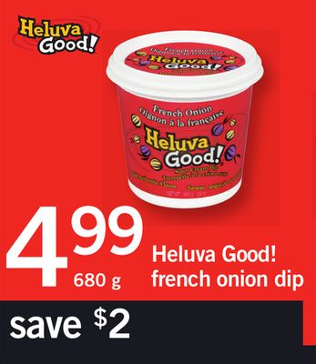 Heluva Good! French Onion Dip 680 g on sale Salewhaleca