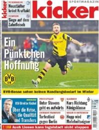 Πρωτοσέλιδο εφημερίδας Kicker