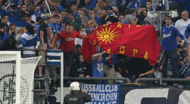Γερμανοί σήκωσαν σημαία υπέρ των Σκοπίων! (vid)