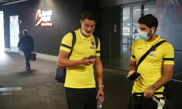 AEΚ: Έφτασε στο Βέλγιο