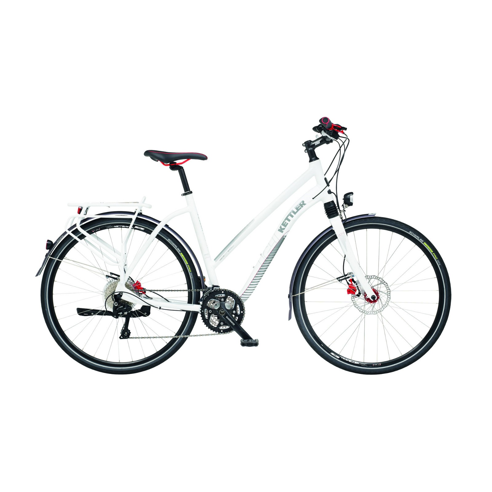 Kettler Bicycle Trekking Traveller 12 4 Light T Zial