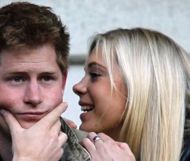 Exes Prince Harry And Chelsy Davy In