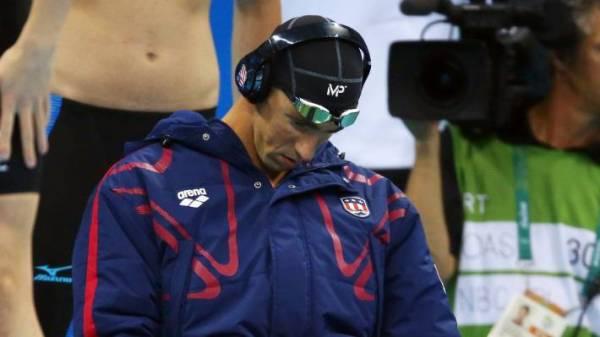 Panic for Phelps - swimcap mishap underlines Olympic ...