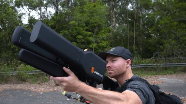 The DroneGun isn't meant for drone hobbyists or their vengeful neighbours.