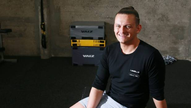 Shane Way won Student of the Year at the 2016 New Zealand Exercise Industry Awards in Auckland.