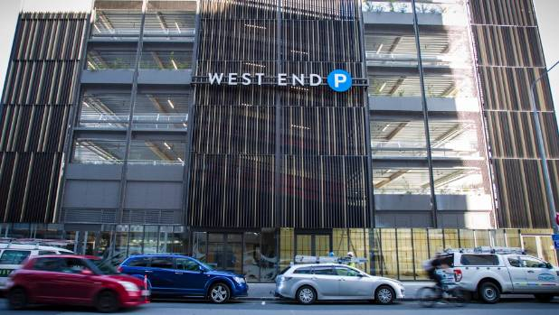 The West End car park building between Cashel and Hereford streets will be opening in April.
