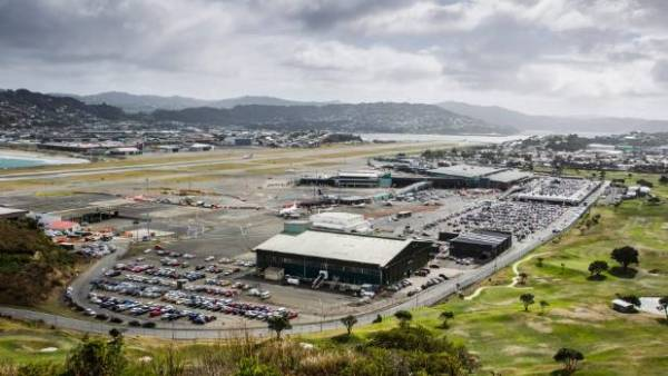 An aircraft believed to belong to the CIA landed in Wellington on Saturday morning (file pic).