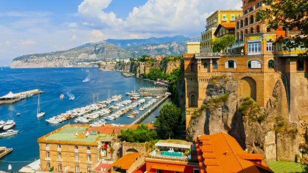 Scruffy Sunny And Sublime Sorrento The Italian Town That