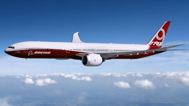 The Boeing 777X is the model with the best future, Boeing says.