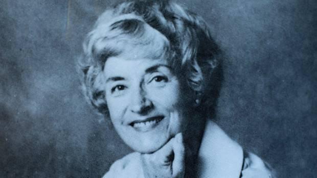 Betty Ferguson, in the 1980s.