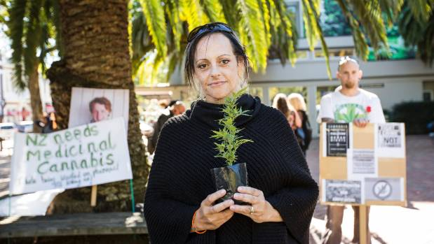 Kelly Patchett wants to see safe legal access to Medicinal Cannabis as part of a nationwide rally.