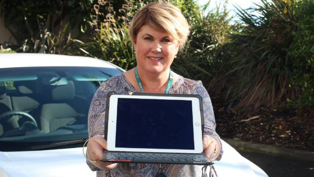 Bridget Oliver says the iPad enables her to spend more time with patients as a speech and language therapist, and less ...