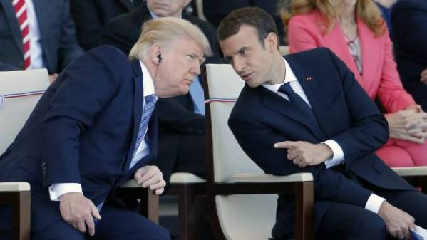 Emmanuel Macron says charm offensive may soften Donald ...