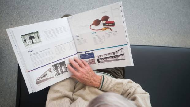 Waikato Hospital's popular timeline installation has been reproduced as a book entitled Waikato Hospital: Our Hospital, ...