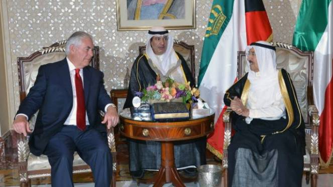 Kuwait is a key ally of the United States in the Gulf. US Secretary of State Rex Tillerson met the gulf state's Emir Sabah Al-Ahmad Al-Jaber Al-Sabah in Kuwait City last month.