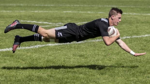 First five Jared Percival scores for the NZ Heartland XV.