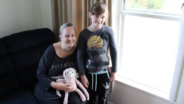 Caitlin McMurty, 8, and her mother, Michelle, have learnt a lot about Scolisos since Caitlin was diagnosed in February.