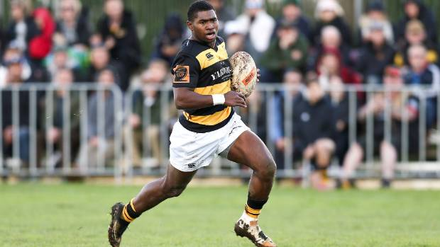 Kiniviliame Naholo scored two tries and set one up against Poverty Bay in Tikorangi on Saturday.