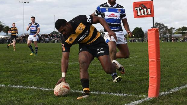 Kiniviliame Naholo scored the opening try of the day, but there wasn't much more for Taranaki to write home about.