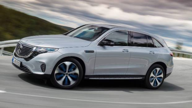 Le Mercedes-Benz EQC semble assez conventionnel, mais c'est parce que c'est un VUS de luxe qui se trouve être électrique.