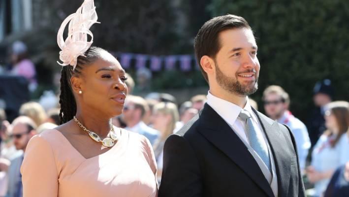 Serena Williams et son partenaire Alexis Ohanian étaient invités au mariage du prince Harry et de Meghan Markle en mai.
