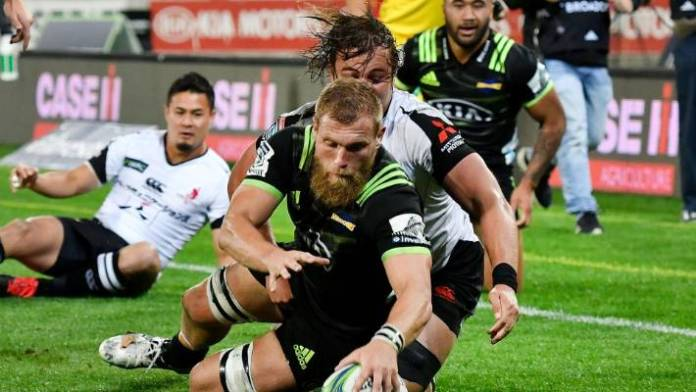 Hurricanes captain Brad Shields now plays for England and premiership club Wasps.