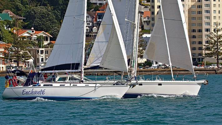Challenging Winds Keeps Wine Race Close Nz
