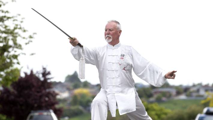 David Thew has been practising Tai Chi for about 36 years.