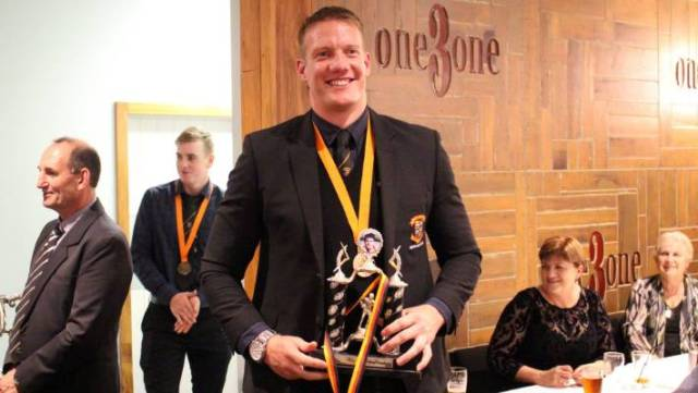 Matt Rolston was named Team Man of the Year.