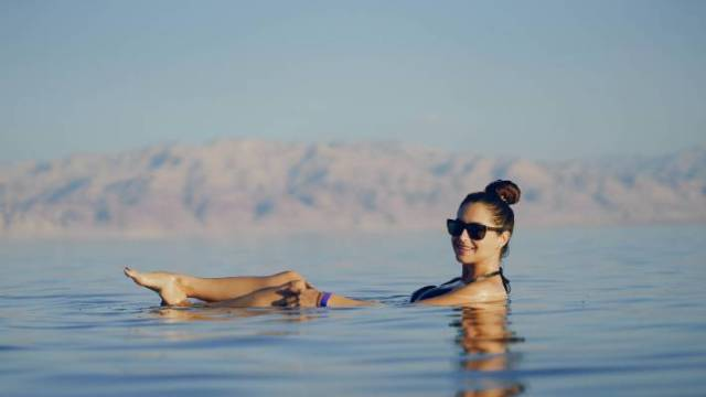 The Dead Sea - which borders Jordan, Israel and the West Bank - is receding, so catch it while you can.