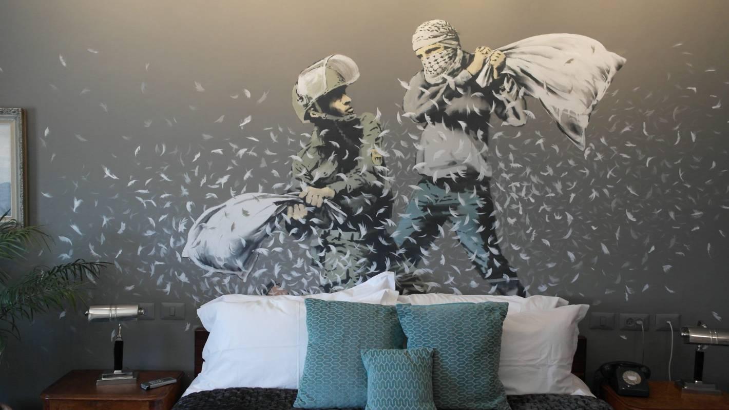 Bethlehem Inside Banksy S The Walled Off Hotel Stuff Co Nz